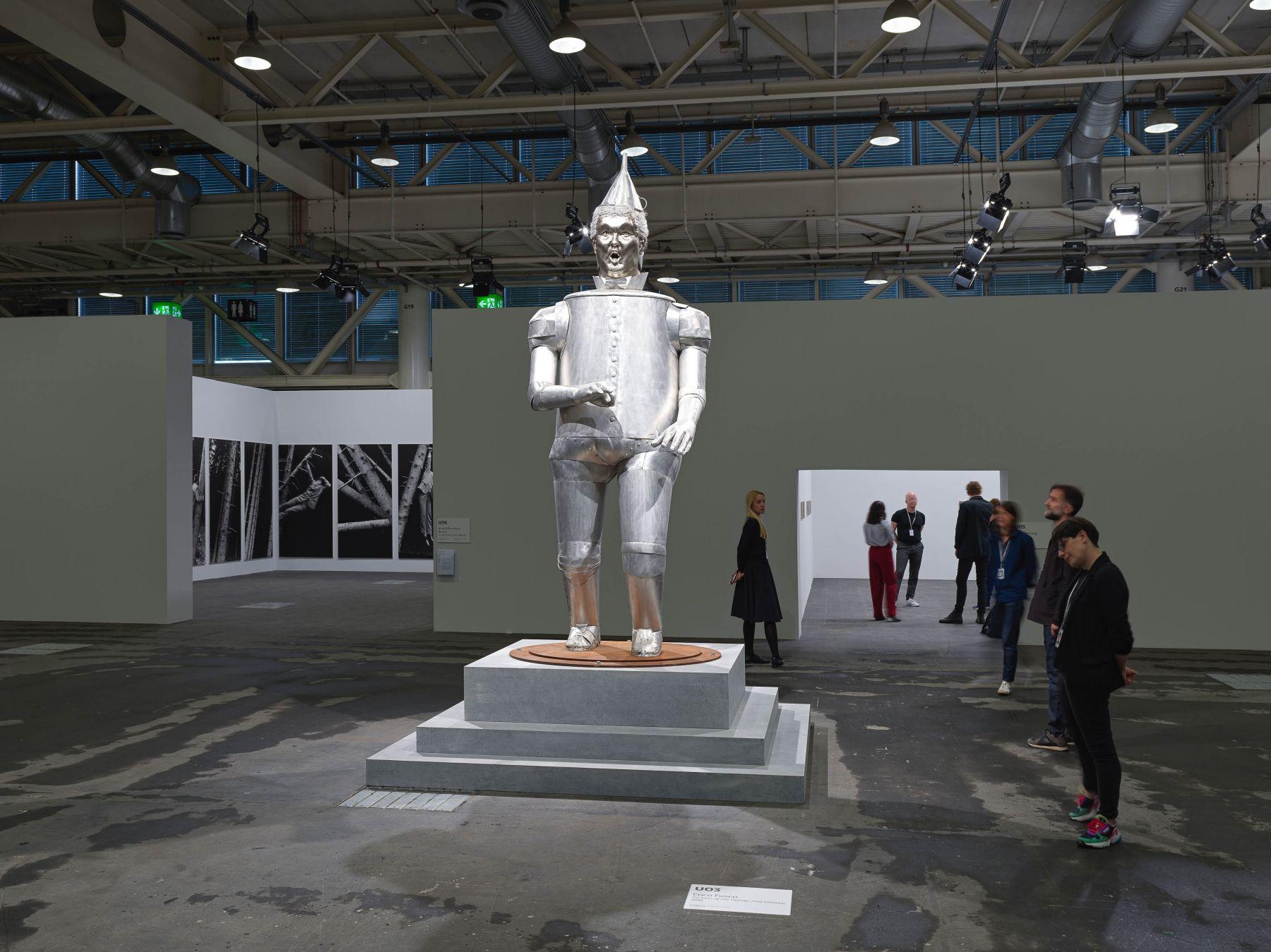 Coco Fusco:Tin Man of the Twenty-First Century