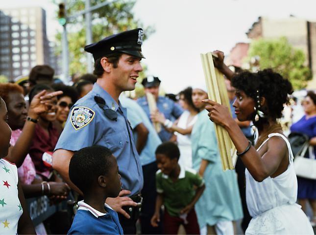 Lorraine O'Grady, Art Is. . . (Framing Cop) (1983/2009)