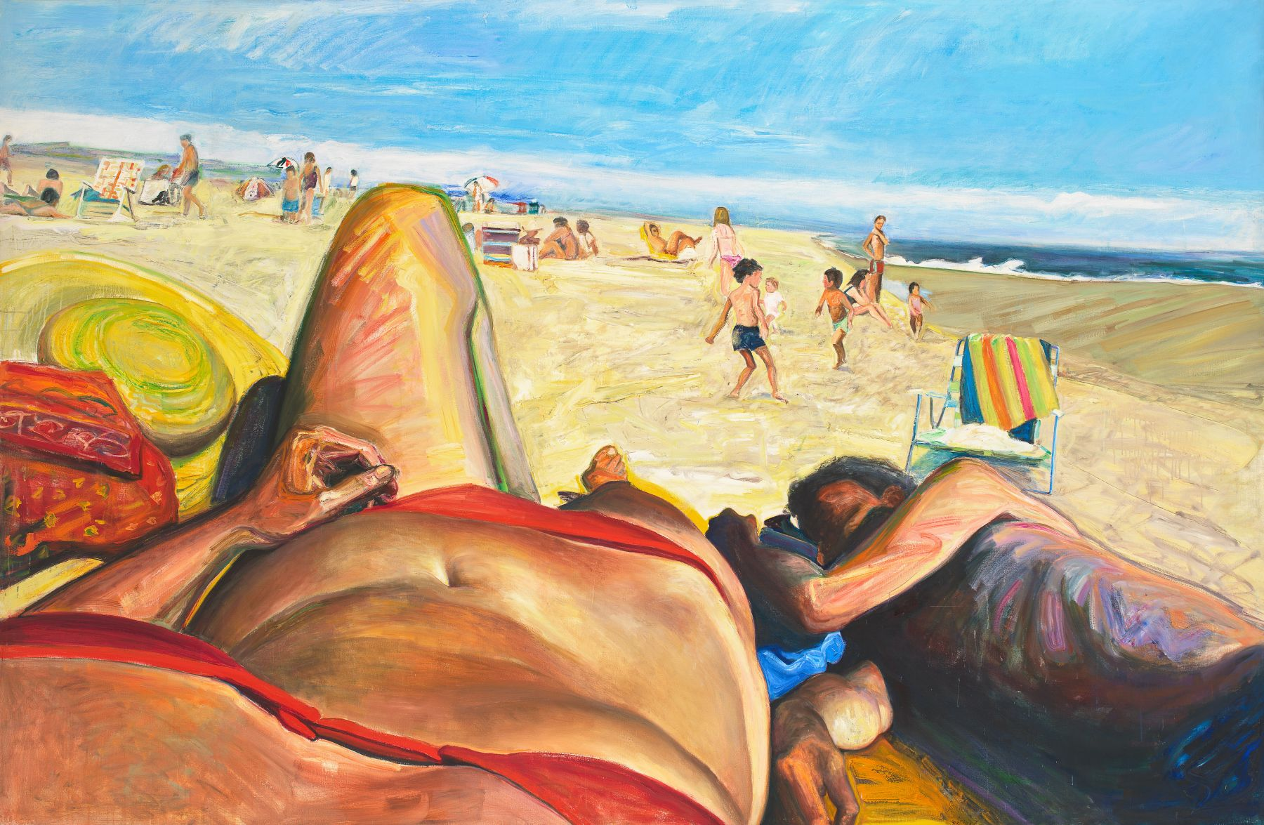 Amagansett Afternoon, 1985, Oil On Canvas