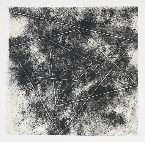 Jack Whitten, Target (In & Out) #7 (2011)
