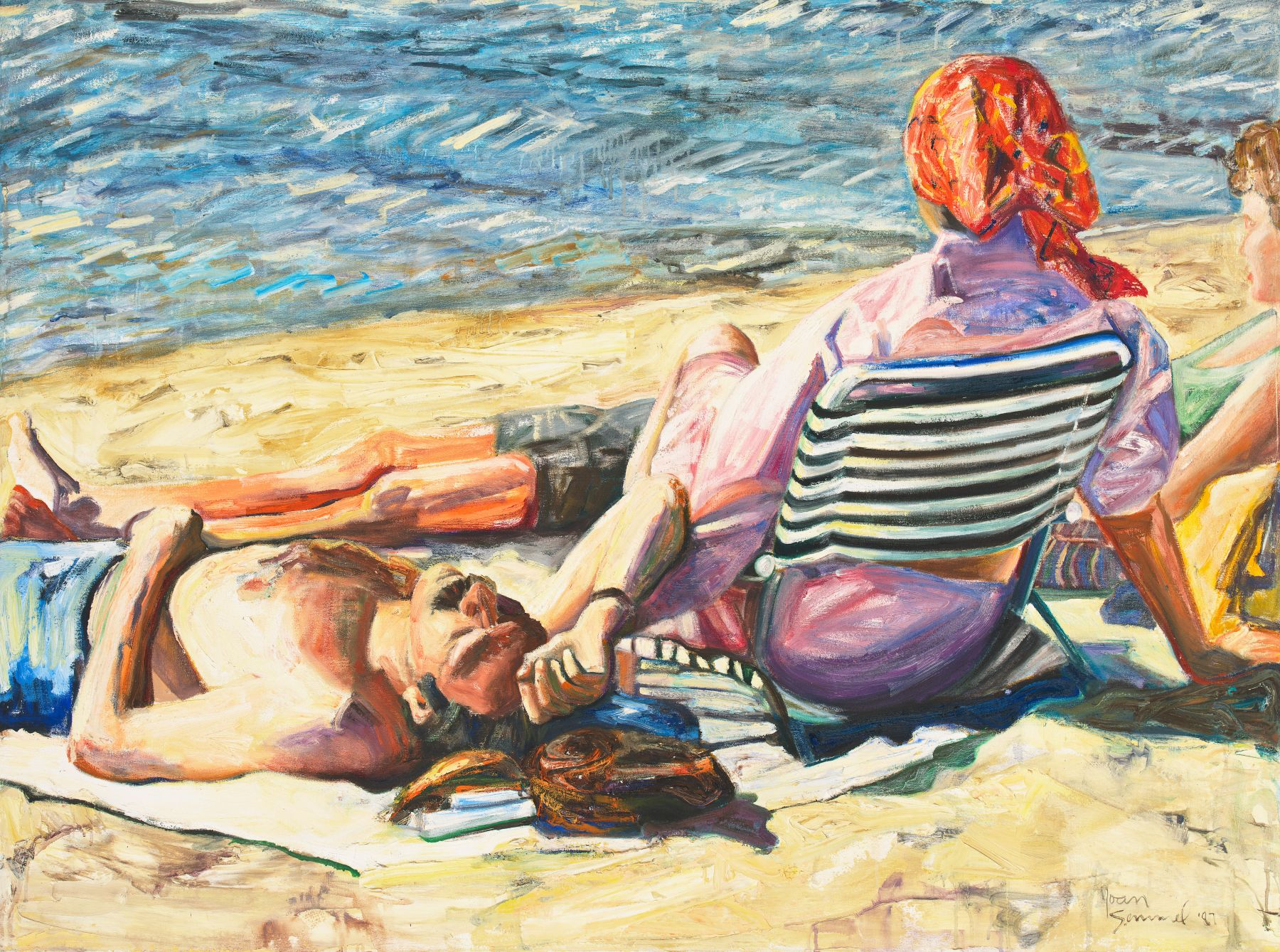 Respite, 1987, Oil On Canvas