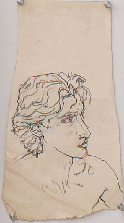 Untitled II, 1981, Graphite on paper