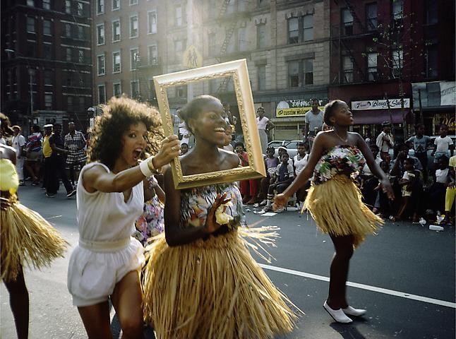 Lorraine O'Grady, Art Is. . . (Dancer in Grass Skirt) (1983/2009)