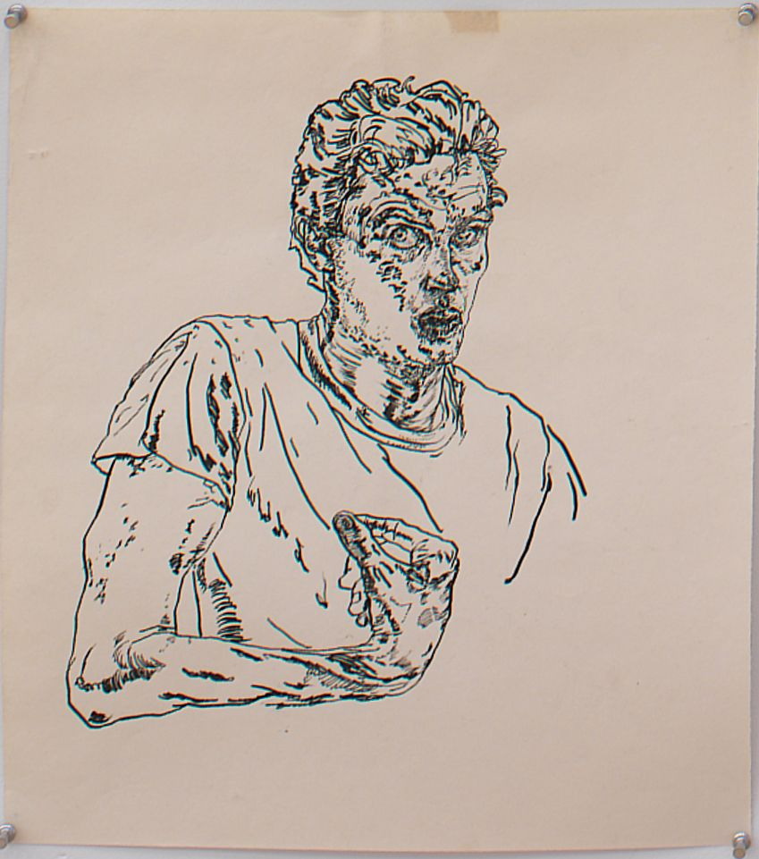 Untitled, 1978, Ink on paper
