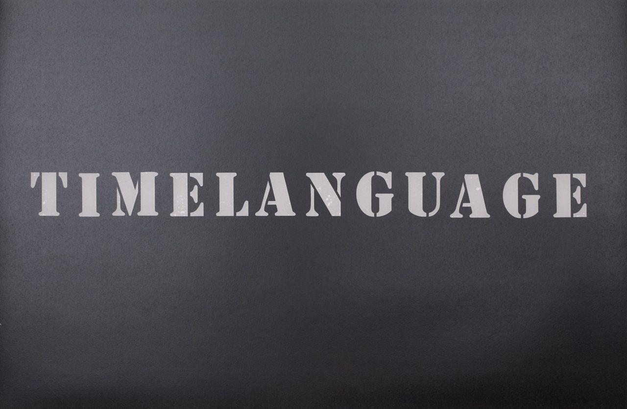 Timelanguage (2016), detail