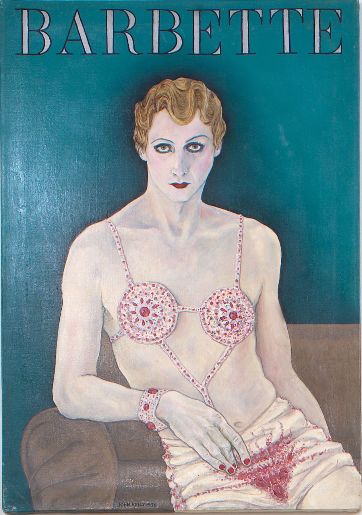 Self Portrait as Barbette, 1926, Oil On Canvas