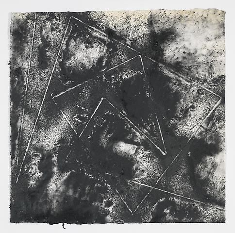 Jack Whitten, Target (In & Out) #5 (2011)