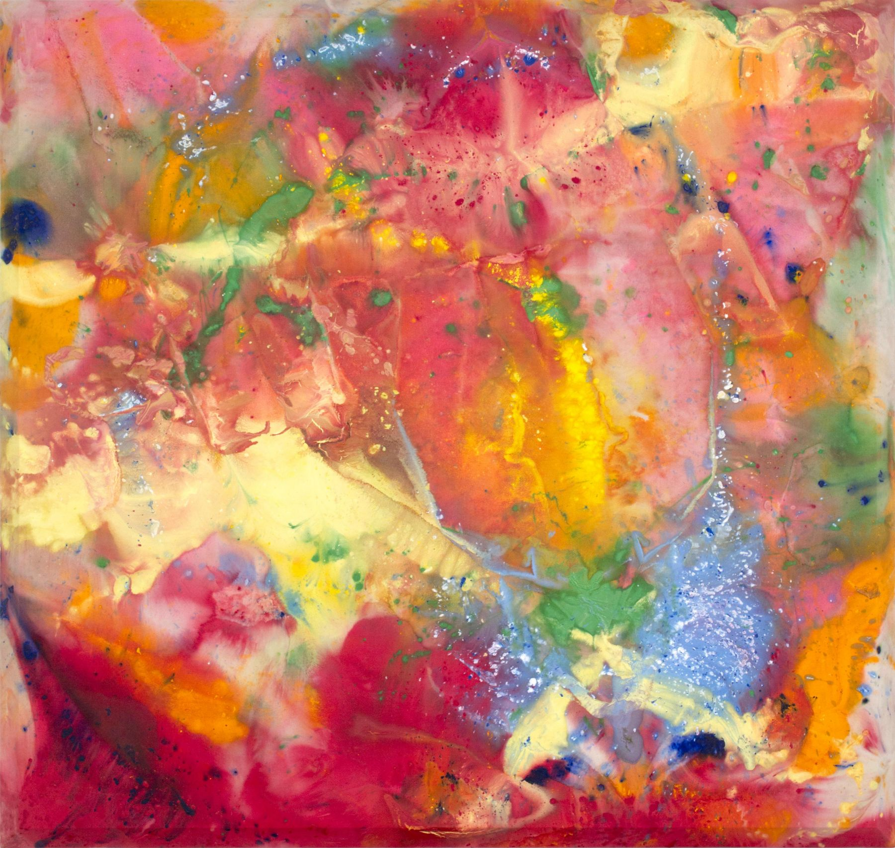 Sam Gilliam, Soft Melting, 1972