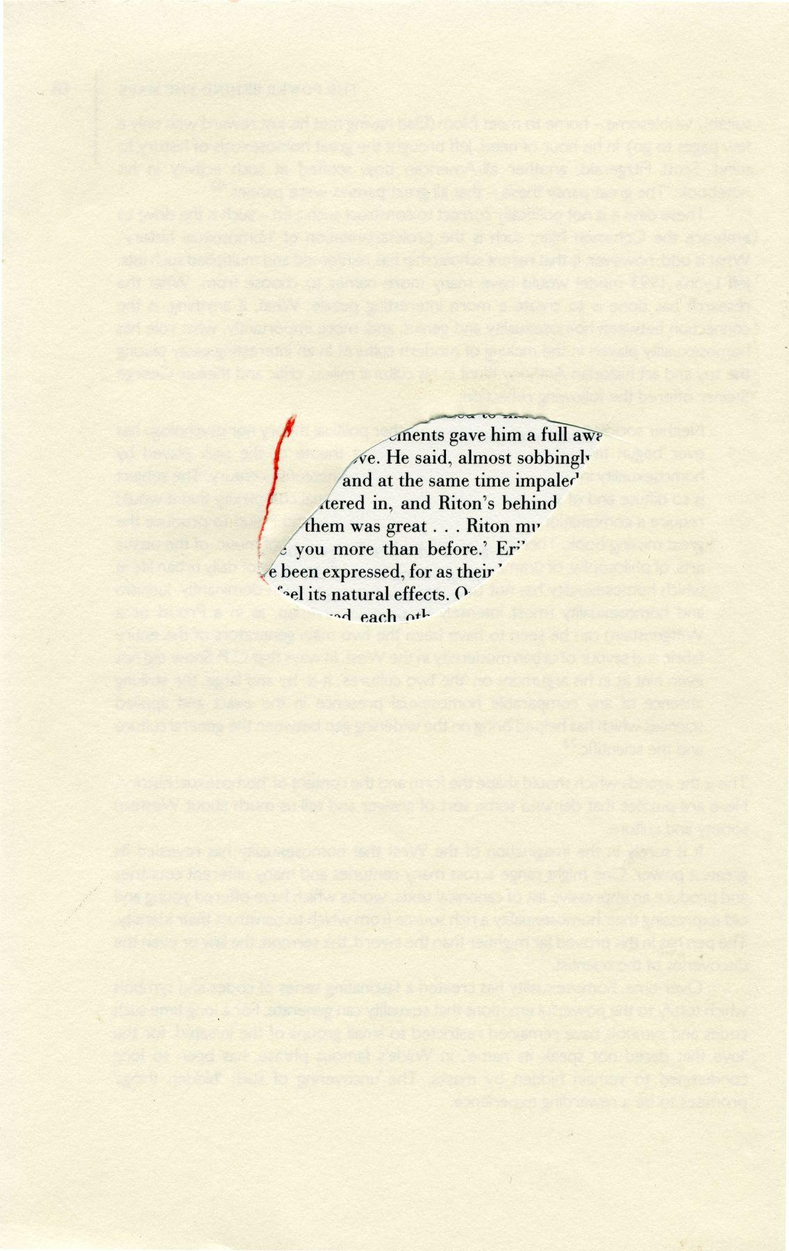 Portraits (Jean Genet), 2004, Archival inkjet print on paper