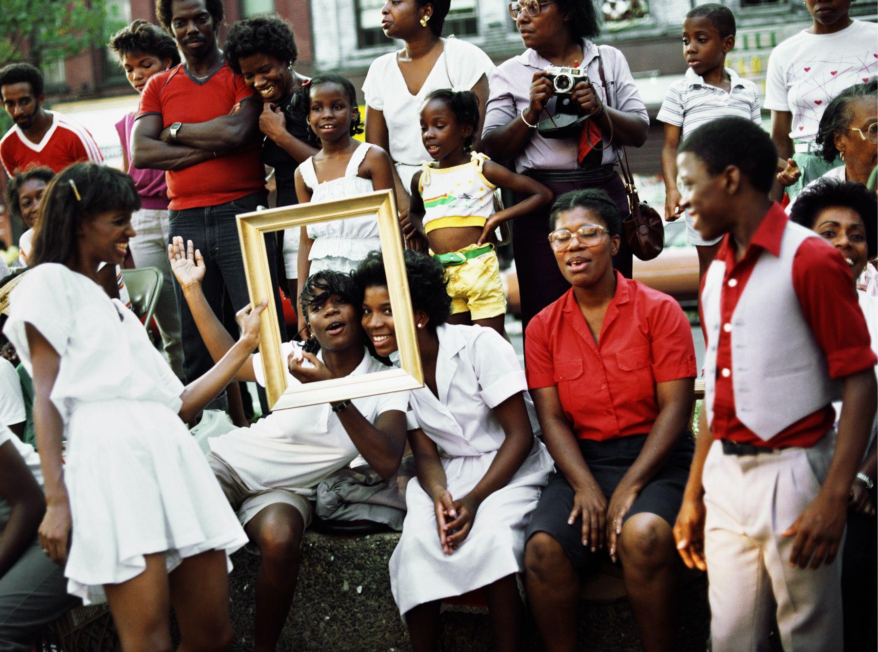 Art Is. . . (Women in Crowd Framed), 1983/2009, C-print