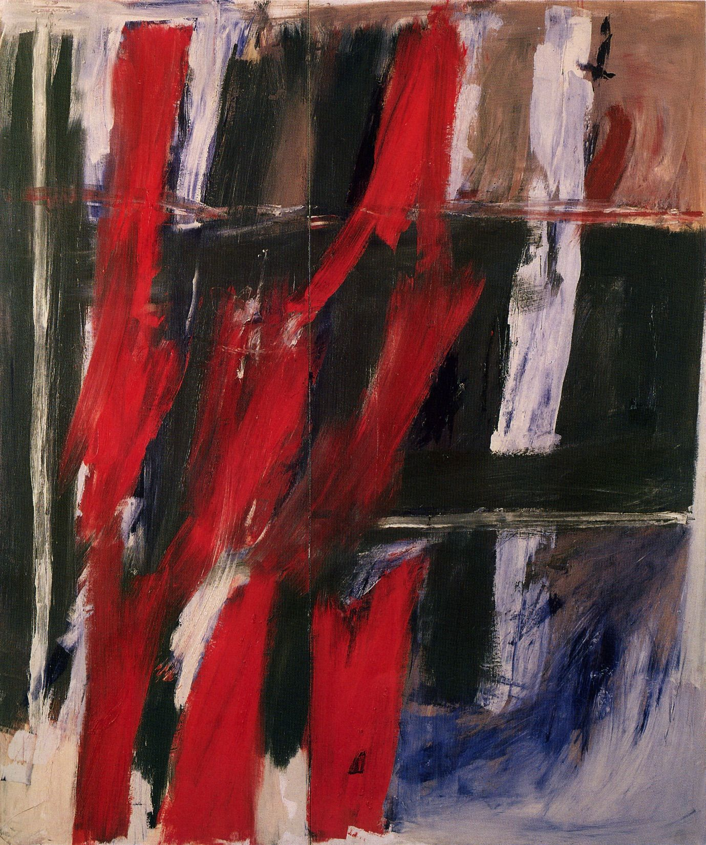 To Stefan Wolpe, 1960, Oil on canvas