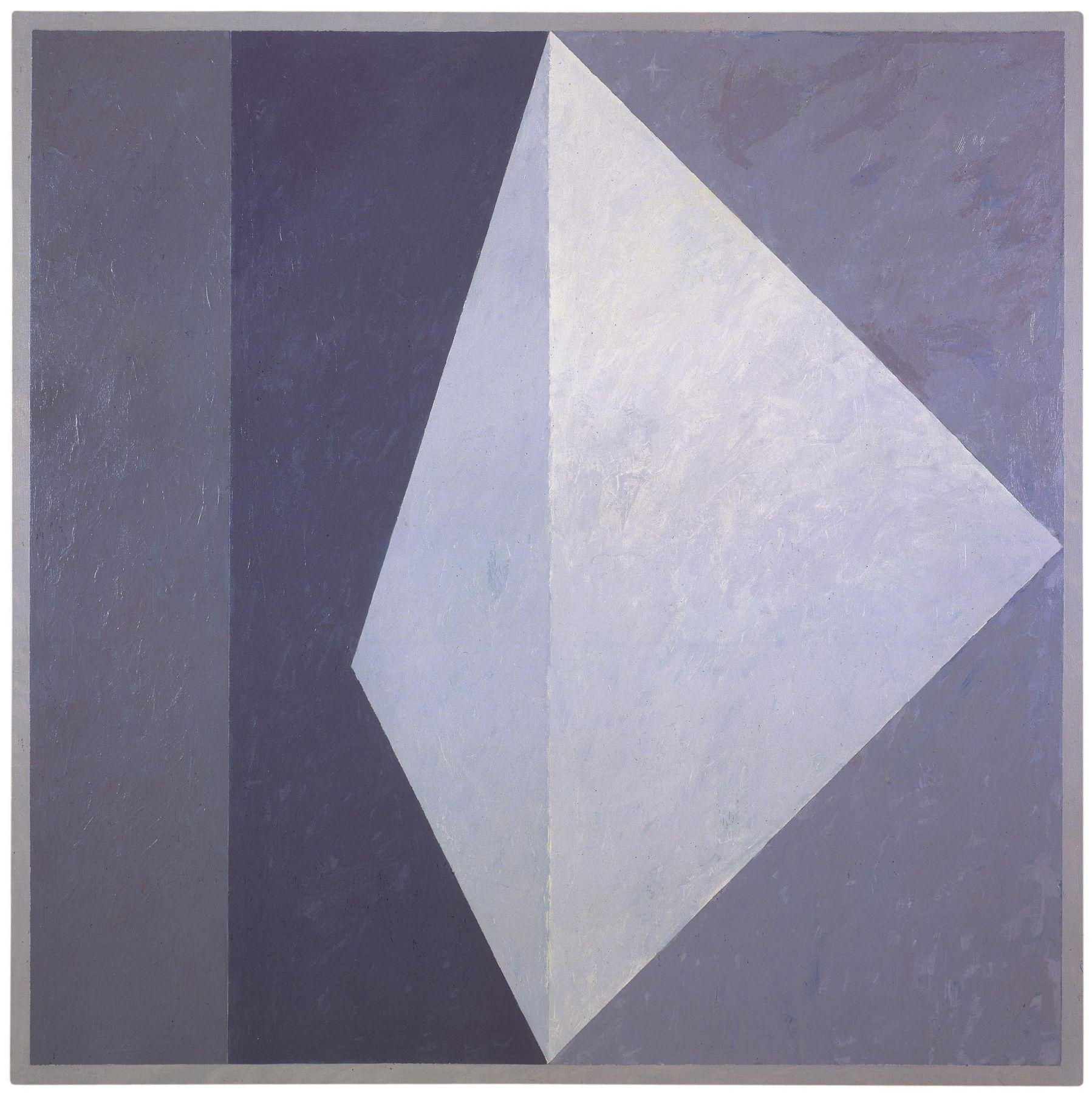Alternative VIII (Q1-78 #4), 1978, Oil on canvas