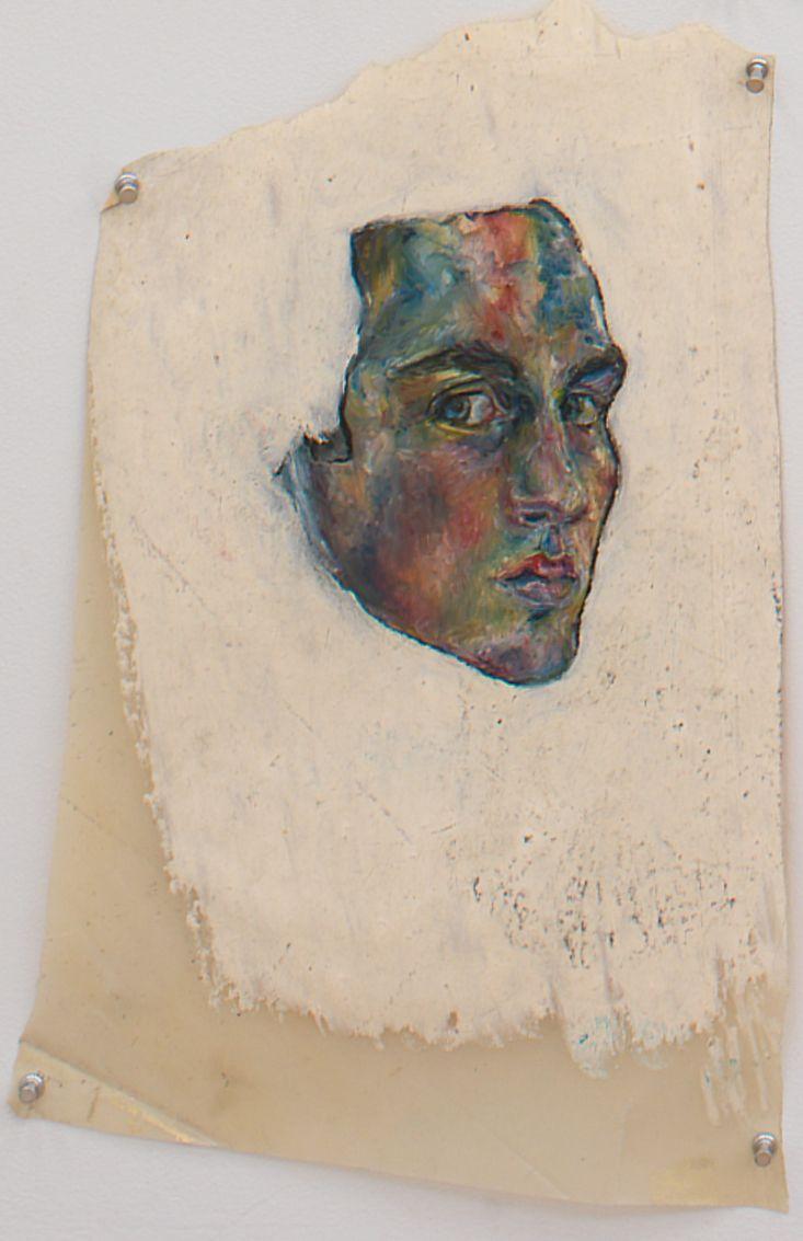 Untitled II, 1976, Oil pastel on vellum