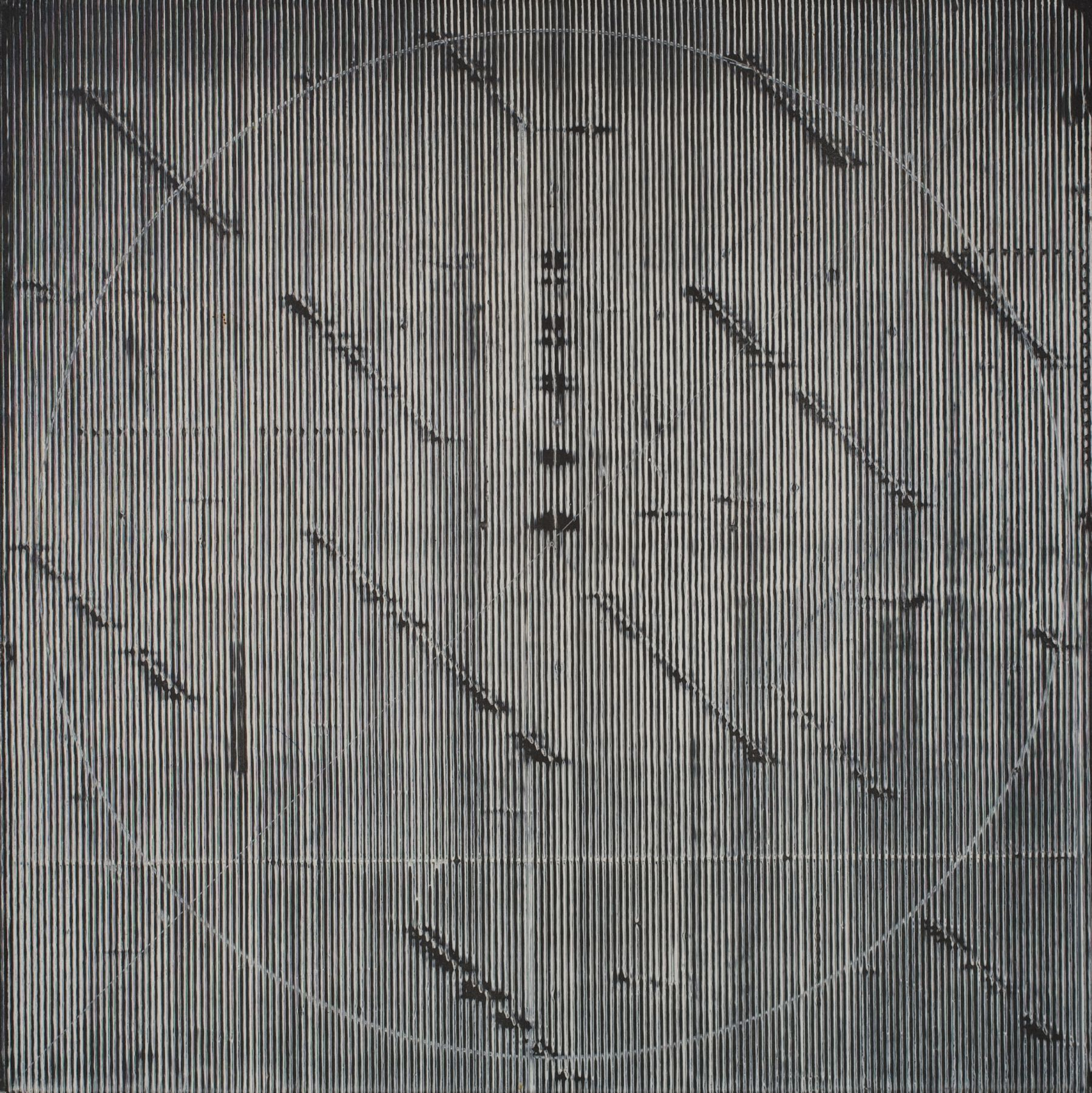 Epsilon Group I, 1976, Acrylic on Canvas