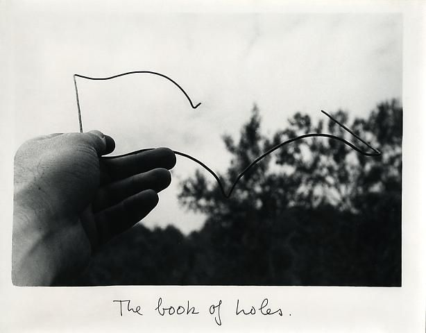 Luis Camnitzer, The Book of Holes (1978)