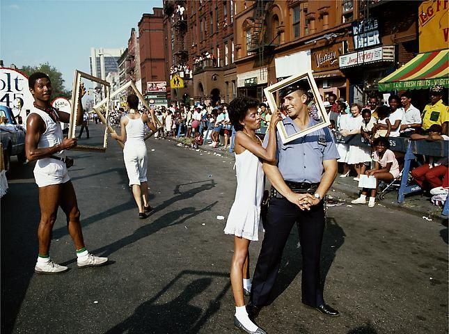 Lorraine O'Grady, Art Is. . . (Cop Framed) (1983/2009)