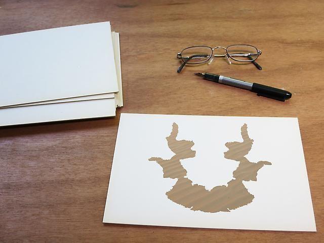 Luis Camnitzer; Rorschach Series, Rorschach 7 (2012)