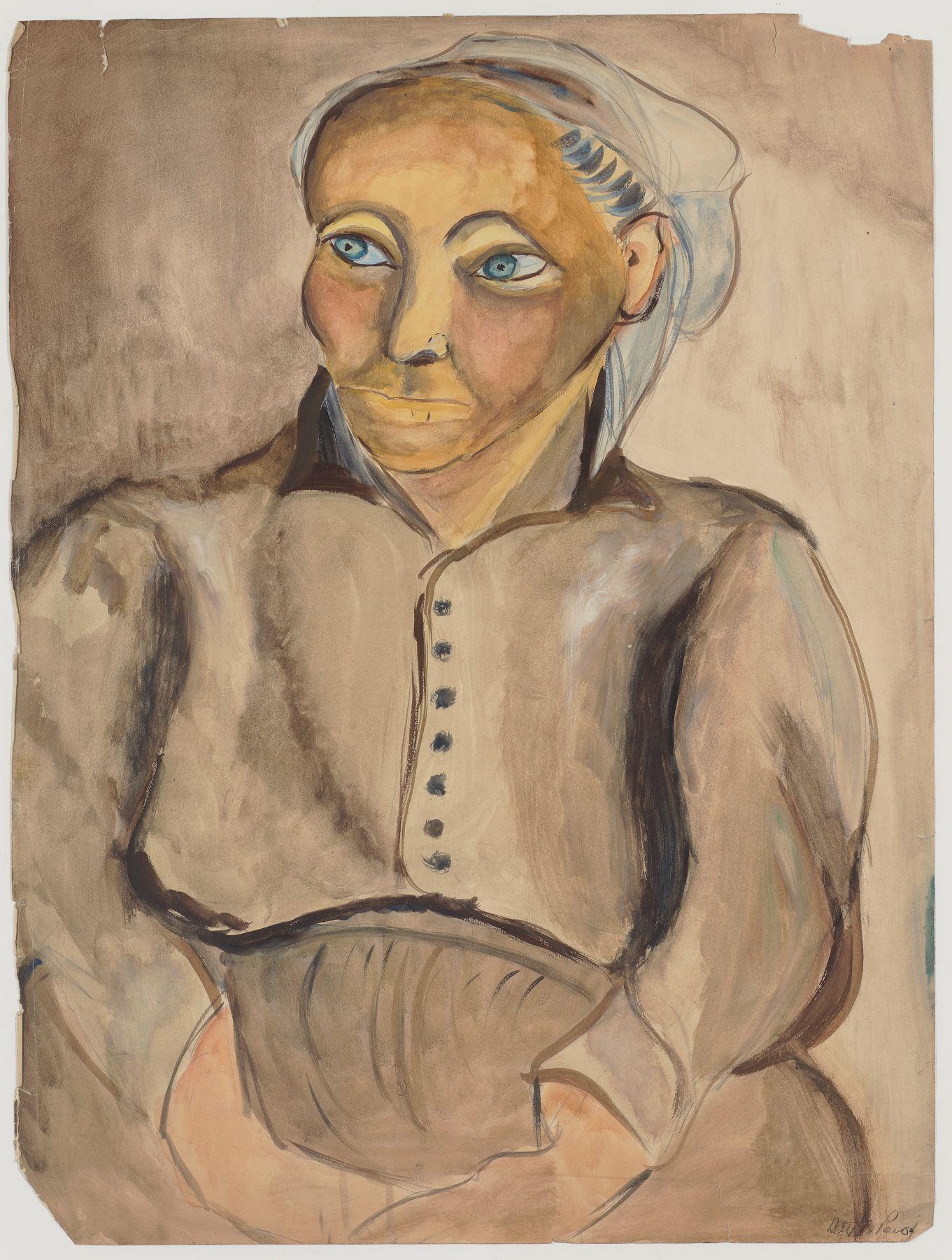 Breton Woman (1929)