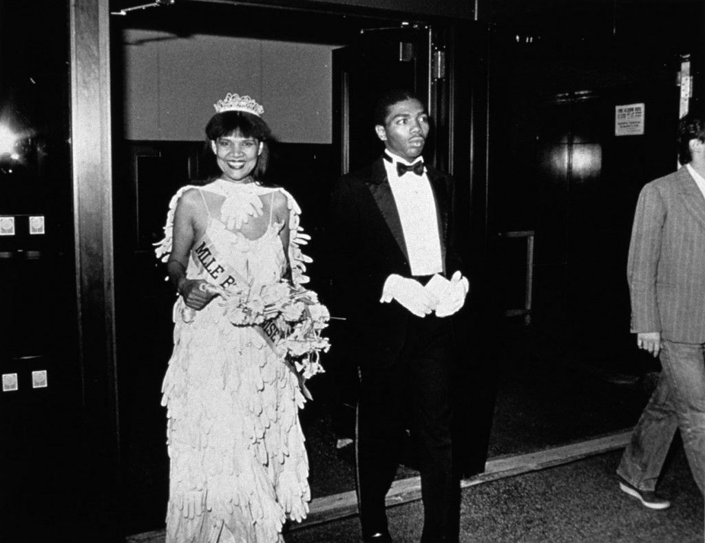 Mlle Bourgeoise Noire and her Master of Ceremonies enter the New Museum, 1980-1983/2009