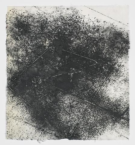 Jack Whitten, Target (In & Out) #10 (2011)