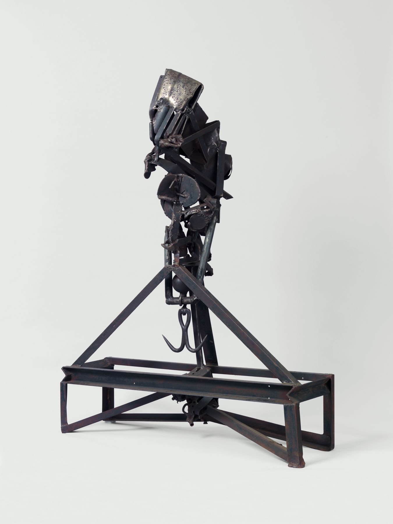 The Lifted X, 1965, Welded steel