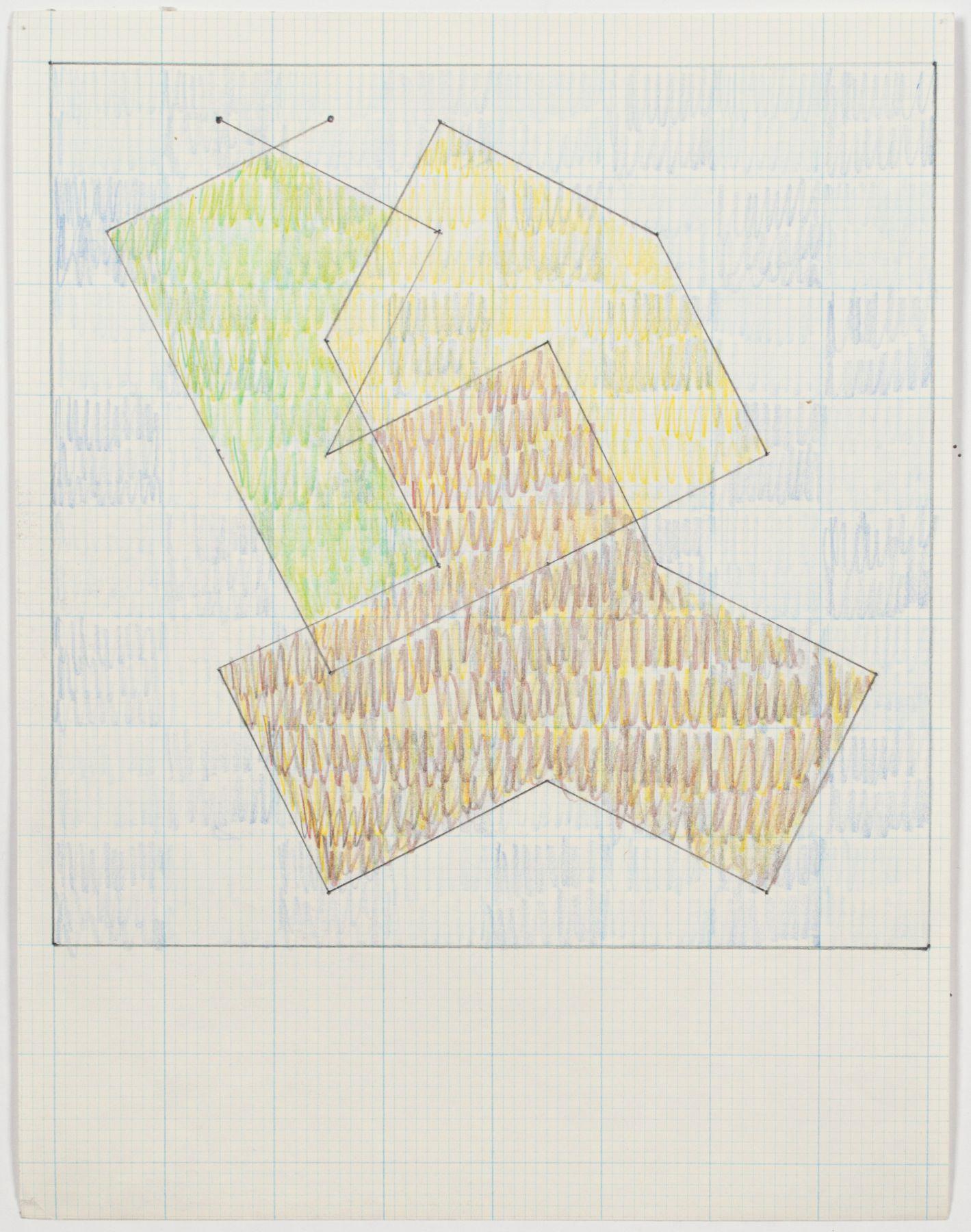 "Jack Tworkov, Study for ""Knight Series"", c. 1975"