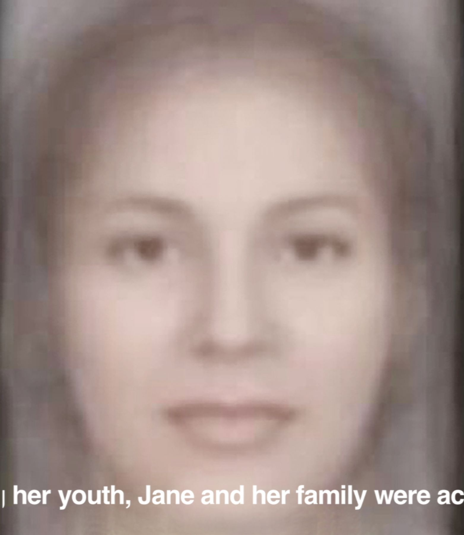 Jane Doe, 2012/2015, Digital video, 45 min 44 sec