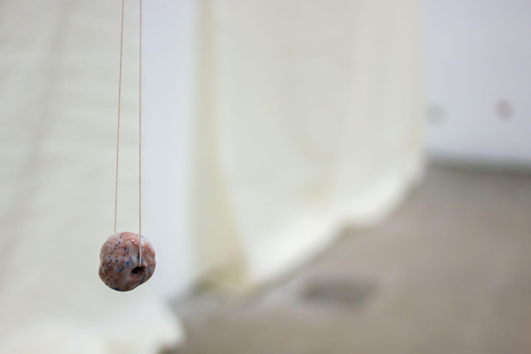 Polly Apfelbaum, Shades of White, detail,2019, installation view, Ikon Gallery, Birmingham, United Kingdom(2019)