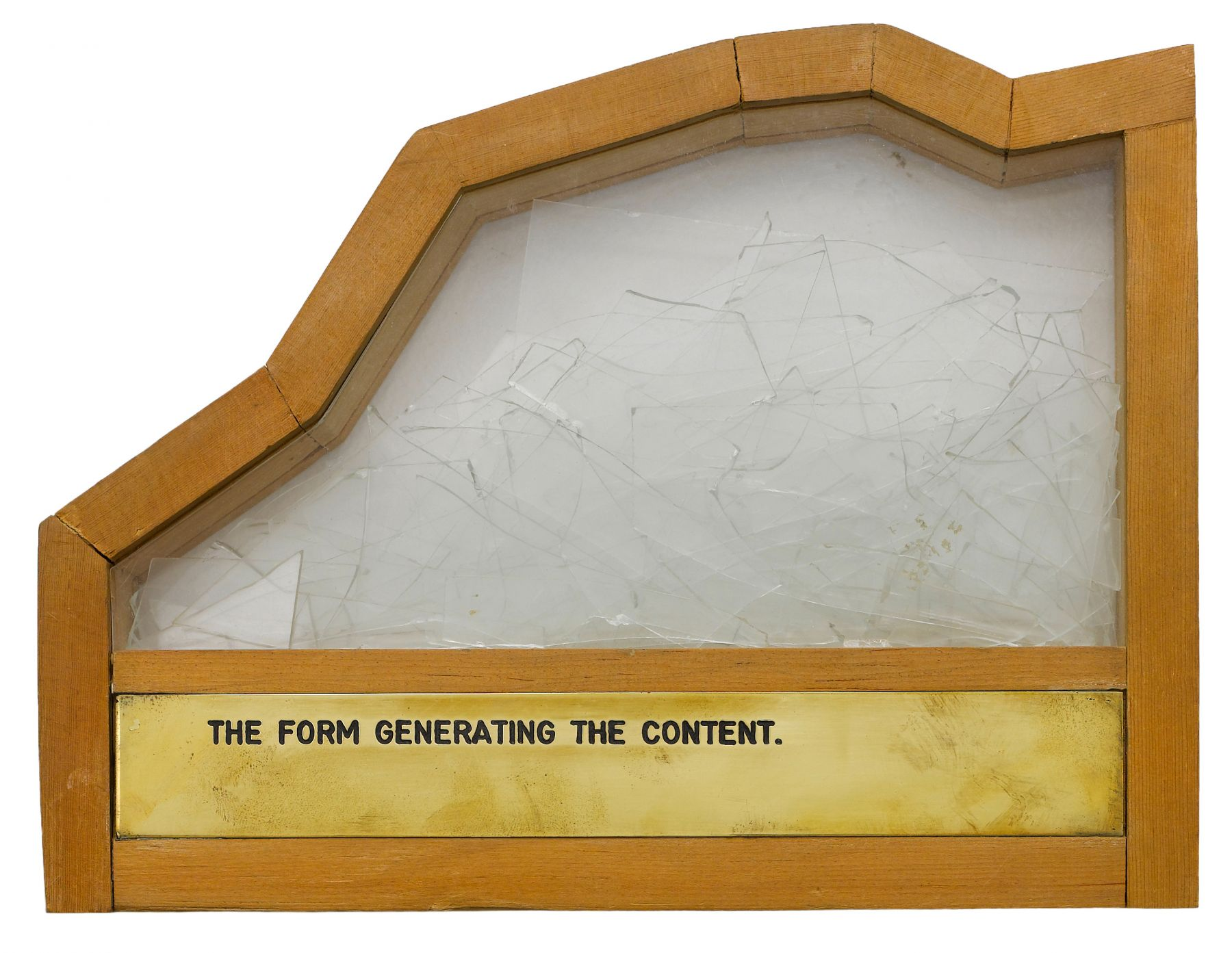 The Form Generating the Content, 1973-1997, Mixed Media