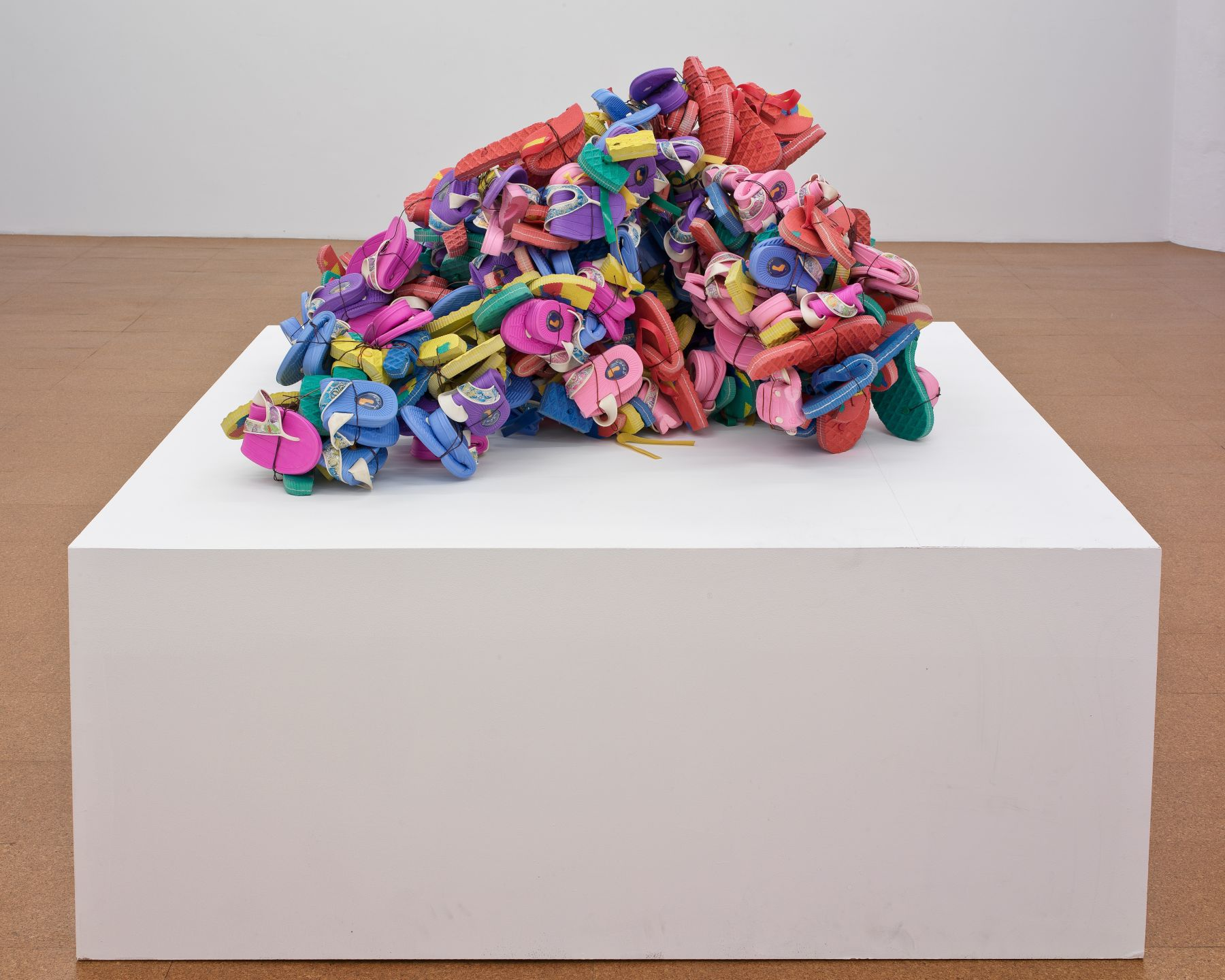 Plastic Sandals, 2008, Mixed Media