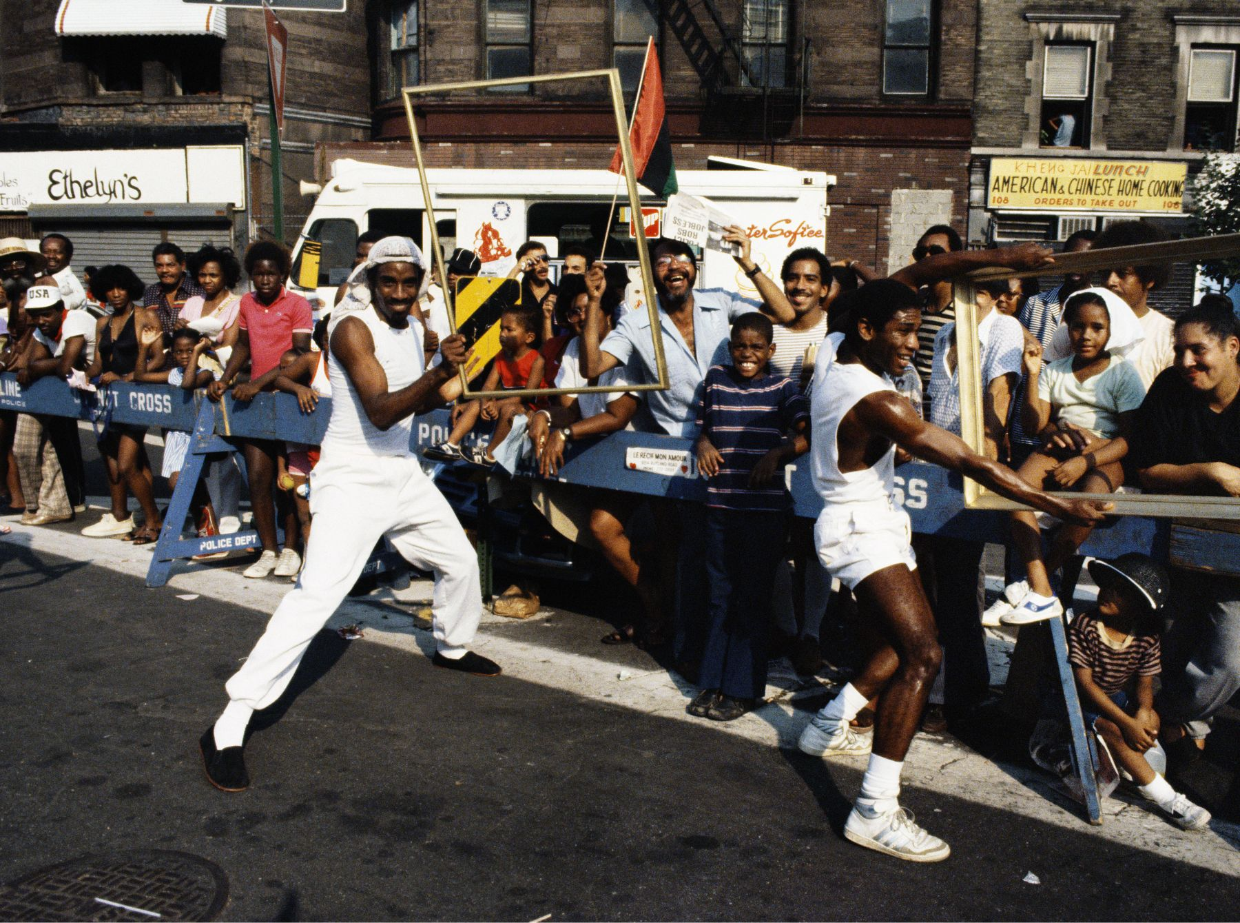 Art Is. . . (Guys in a Crowd), 1983/2009, C-print