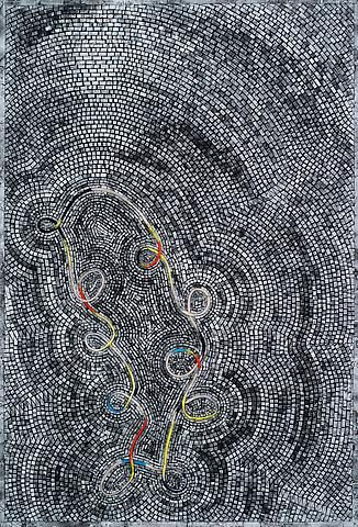 Jack Whitten, The Tenth Loop (2012)