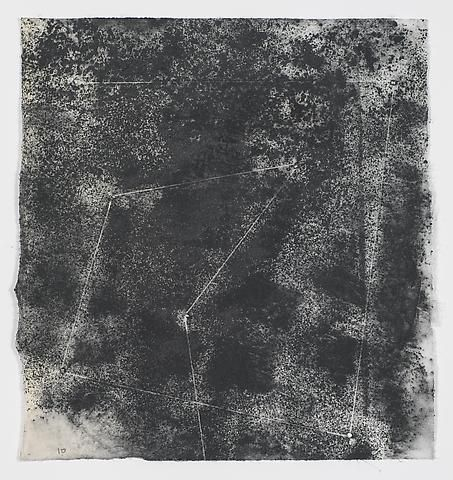 Jack Whitten, Target (In & Out) #15 (2011)