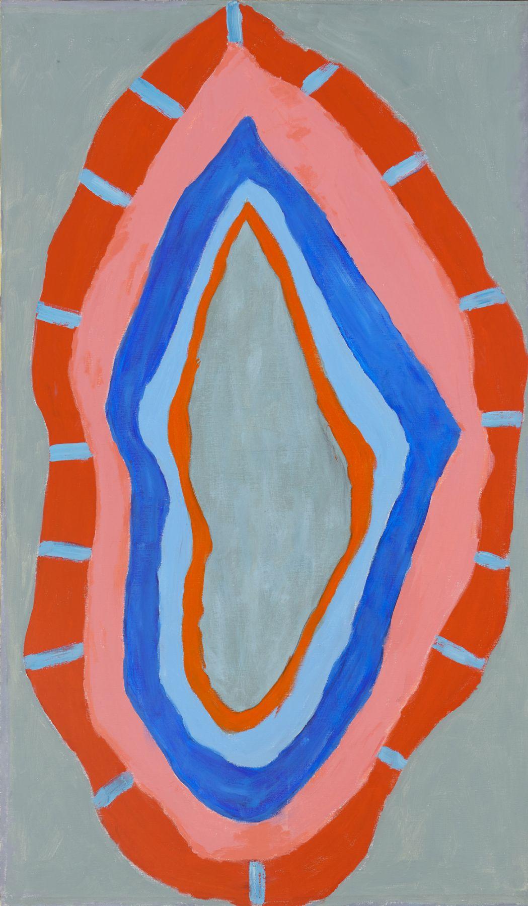 Flame, 1967, Acrylic on canvas