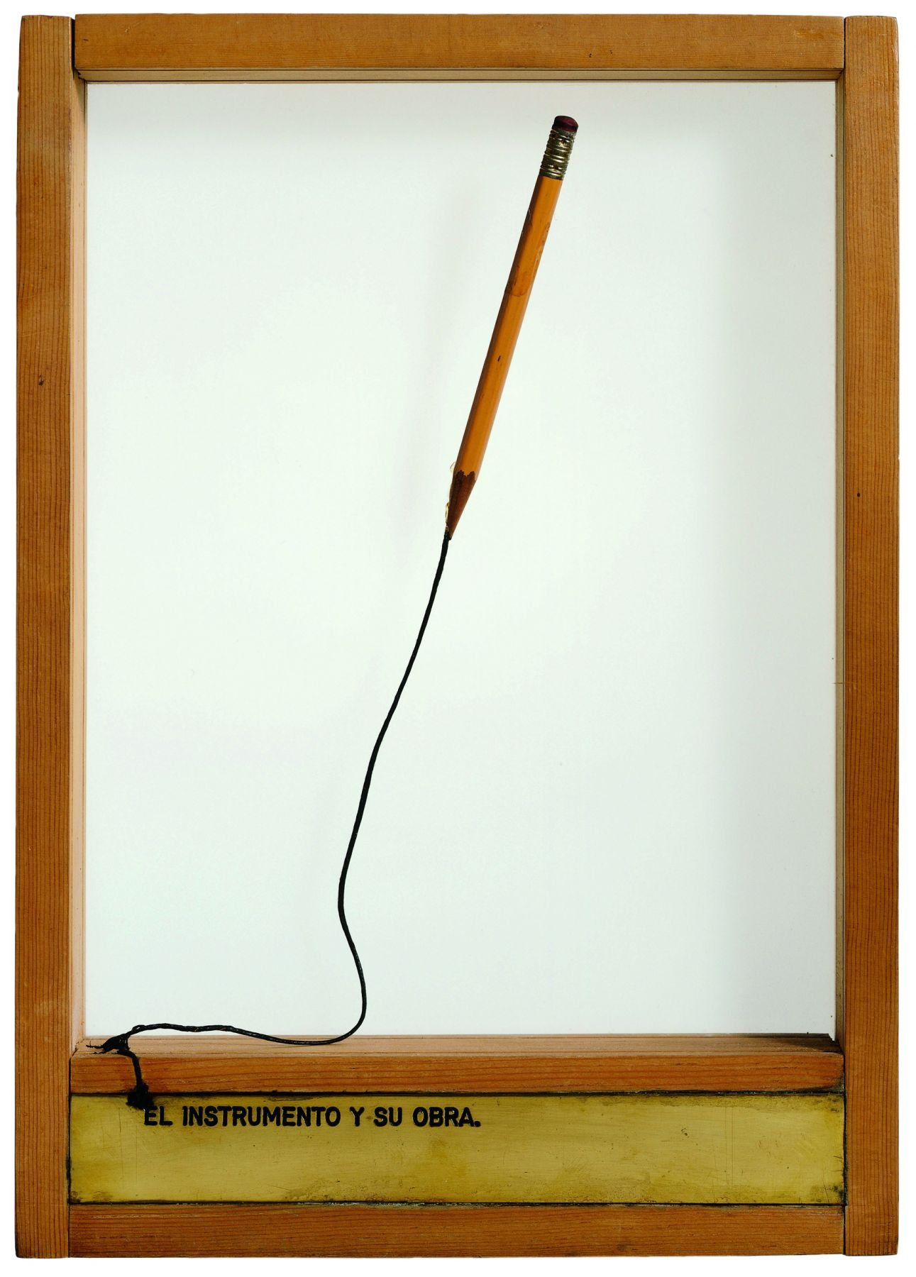 El Instrumento y su Obra, 1976, Mixed Media