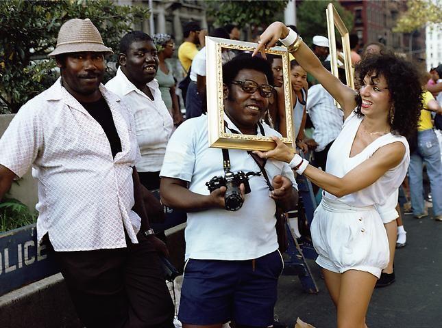 Lorraine O'Grady, Art Is. . . (Man with a Camera) (1983/2009)