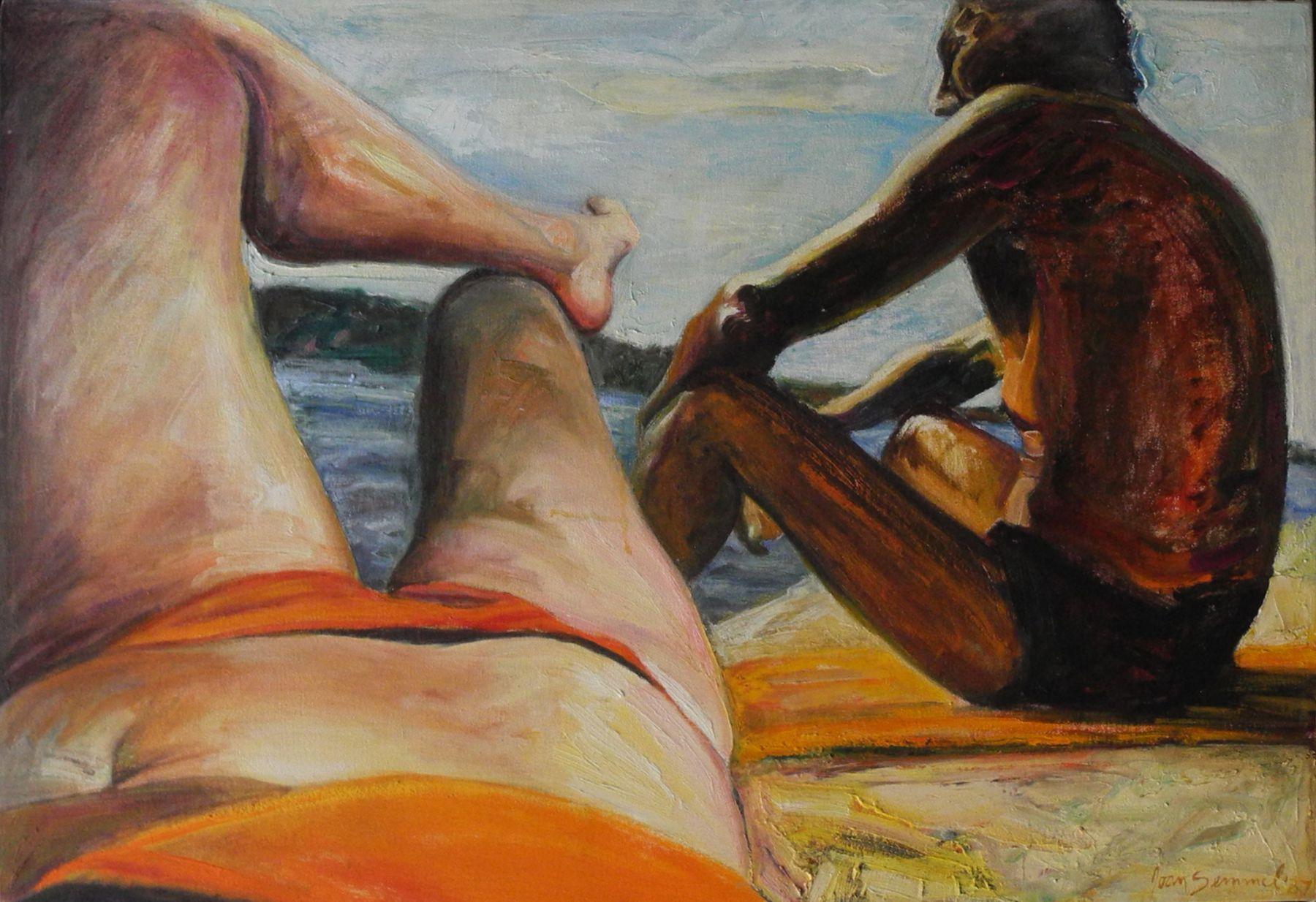 Joan Semmel, Silhouette, 1987