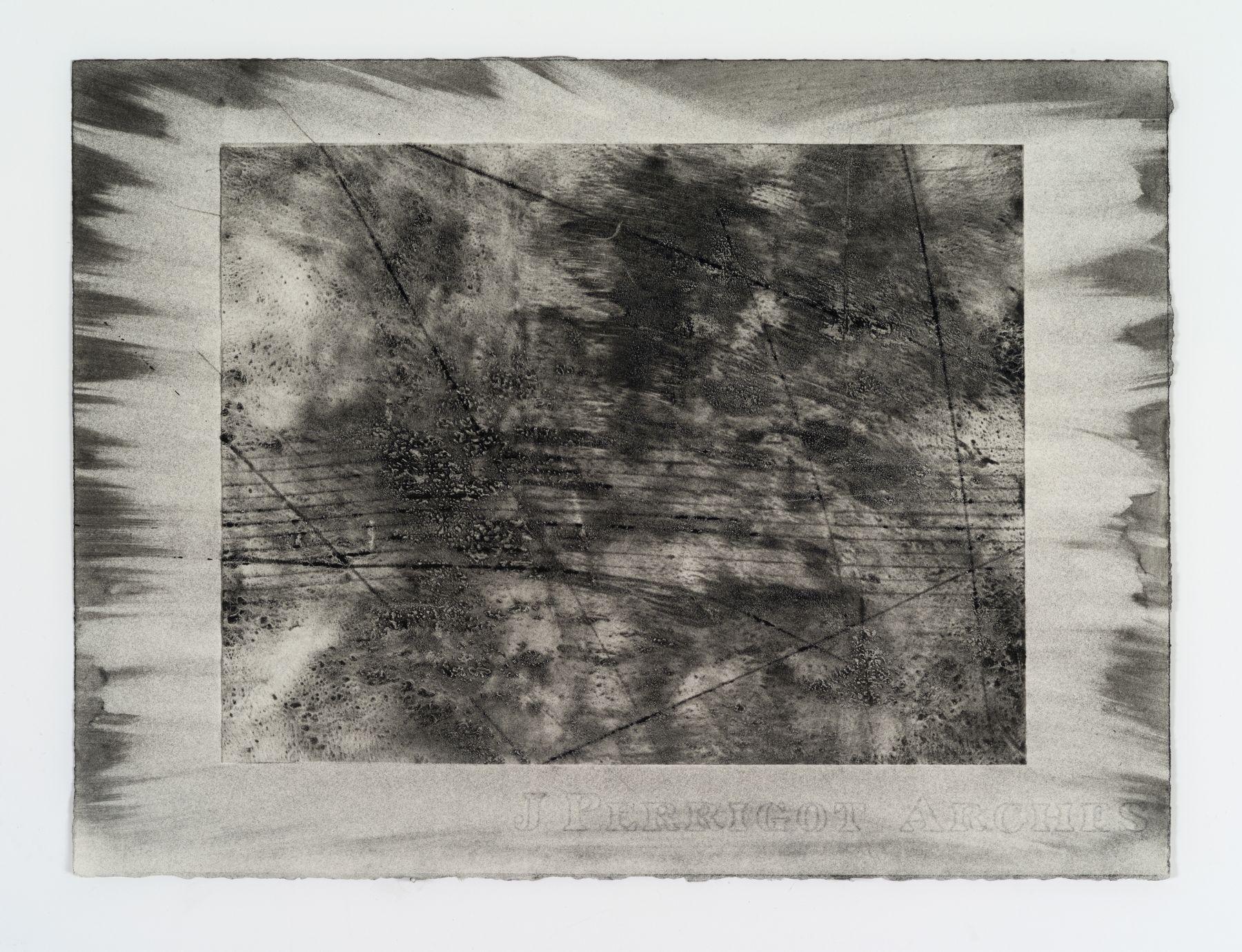 Jack Whitten, Organic Series XII, 1974