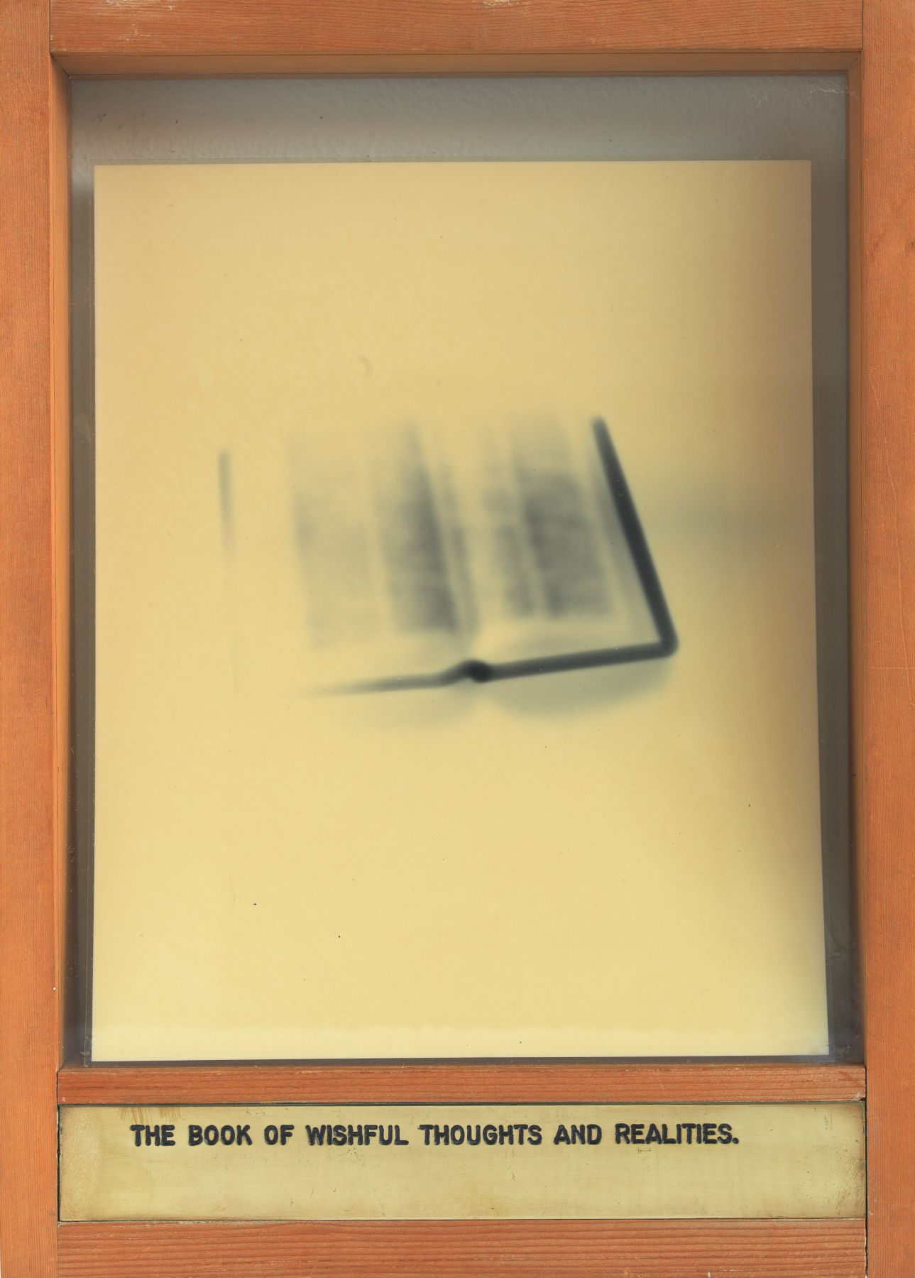 The Book of Wishful Thoughts and Realities., 1975-1978, Mixed Media