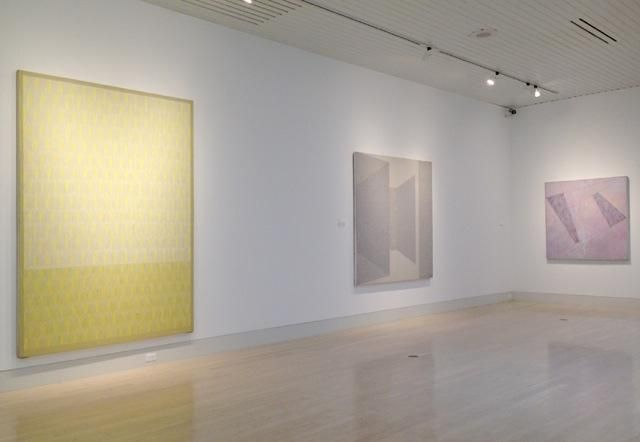 Jack Tworkov: Important Paintings from the 70s, installation view, The Butler Institute of American Art (2015)
