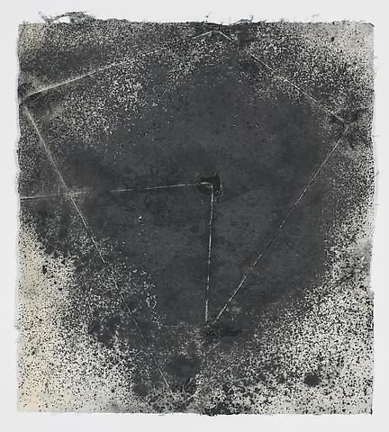Jack Whitten, Target (In & Out) #16 (2011)