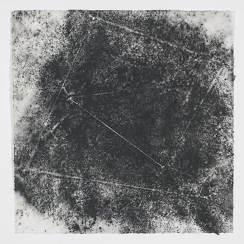 Jack Whitten, Target (In & Out) #14 (2011)
