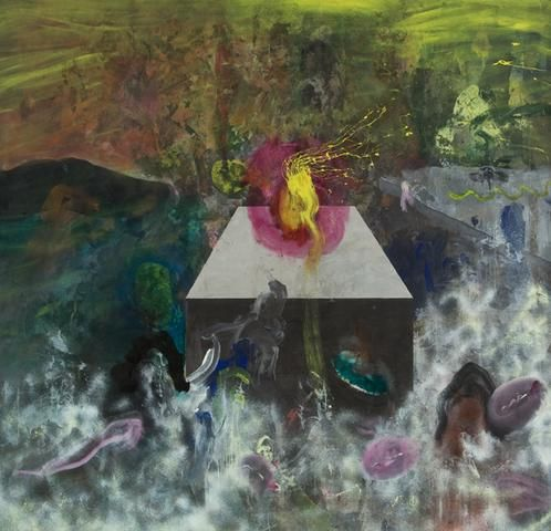 Satori (1969) Acrylic on canvas