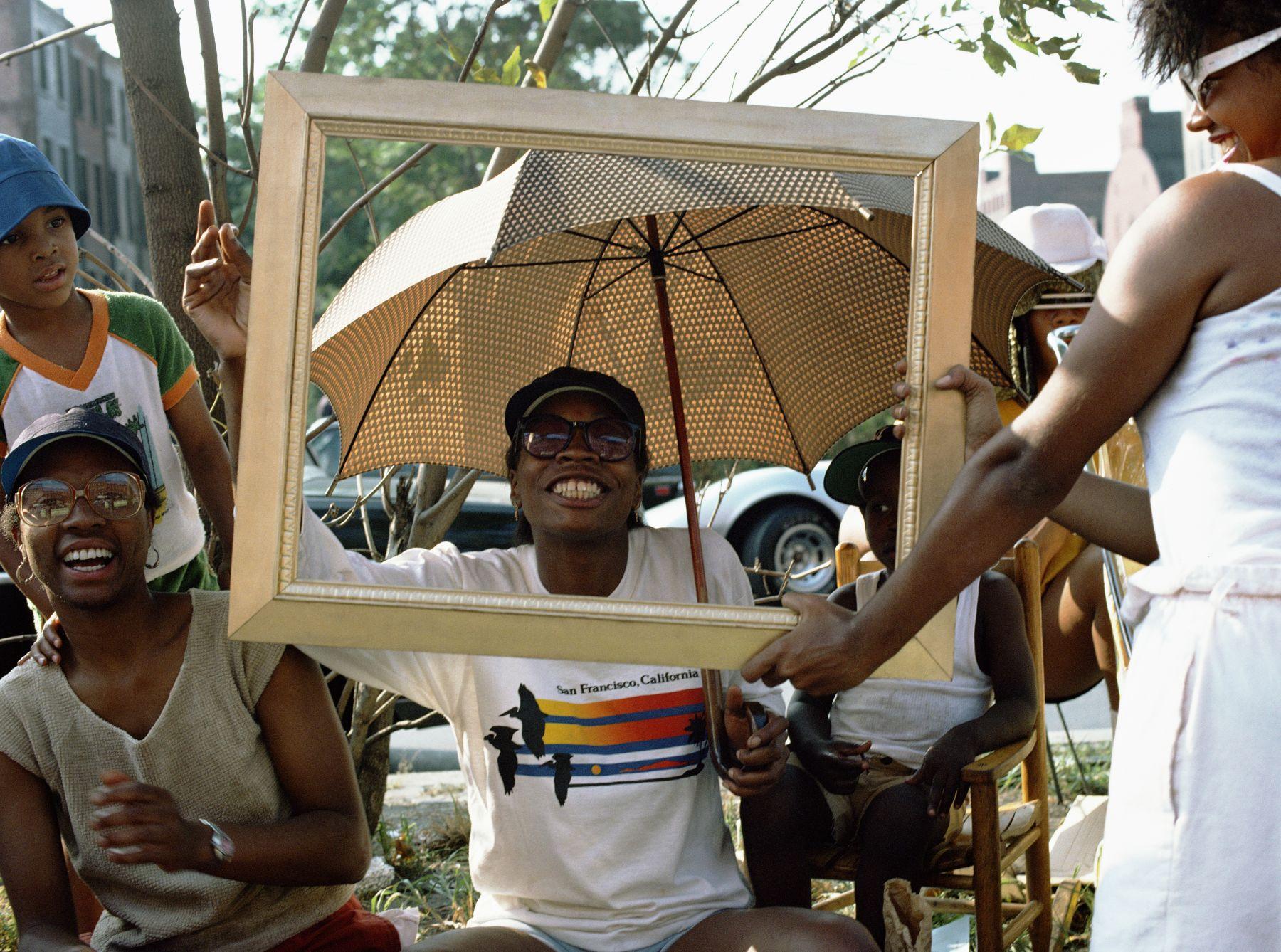 Art Is. . . (Woman and Umbrella), 1983/2009, C-print
