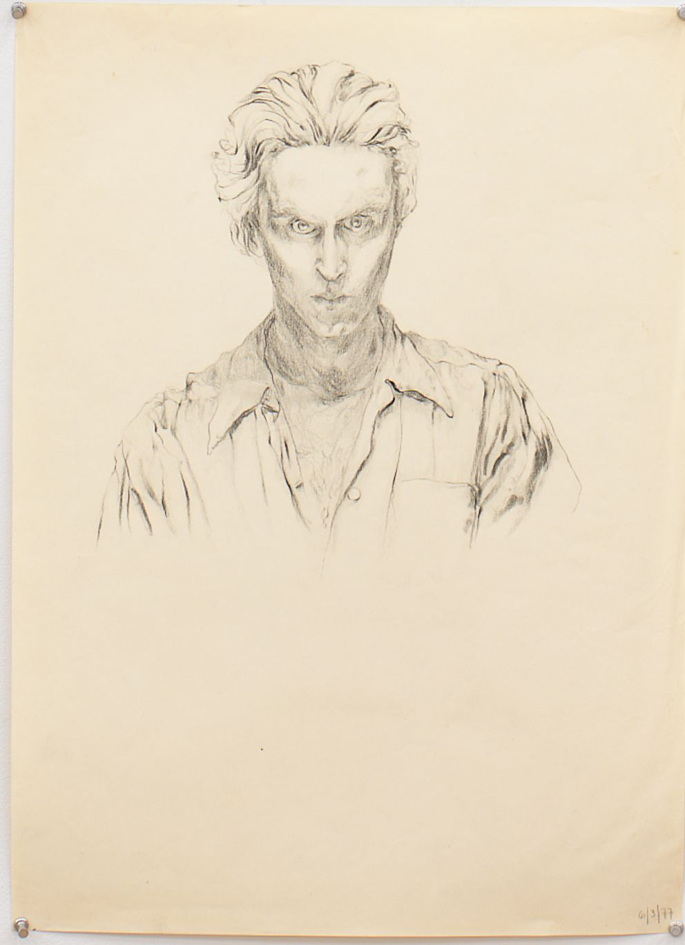 Untitled III, 1977, Graphite on paper