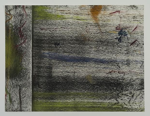 Jack Whitten Untitled Study #5 (1972)