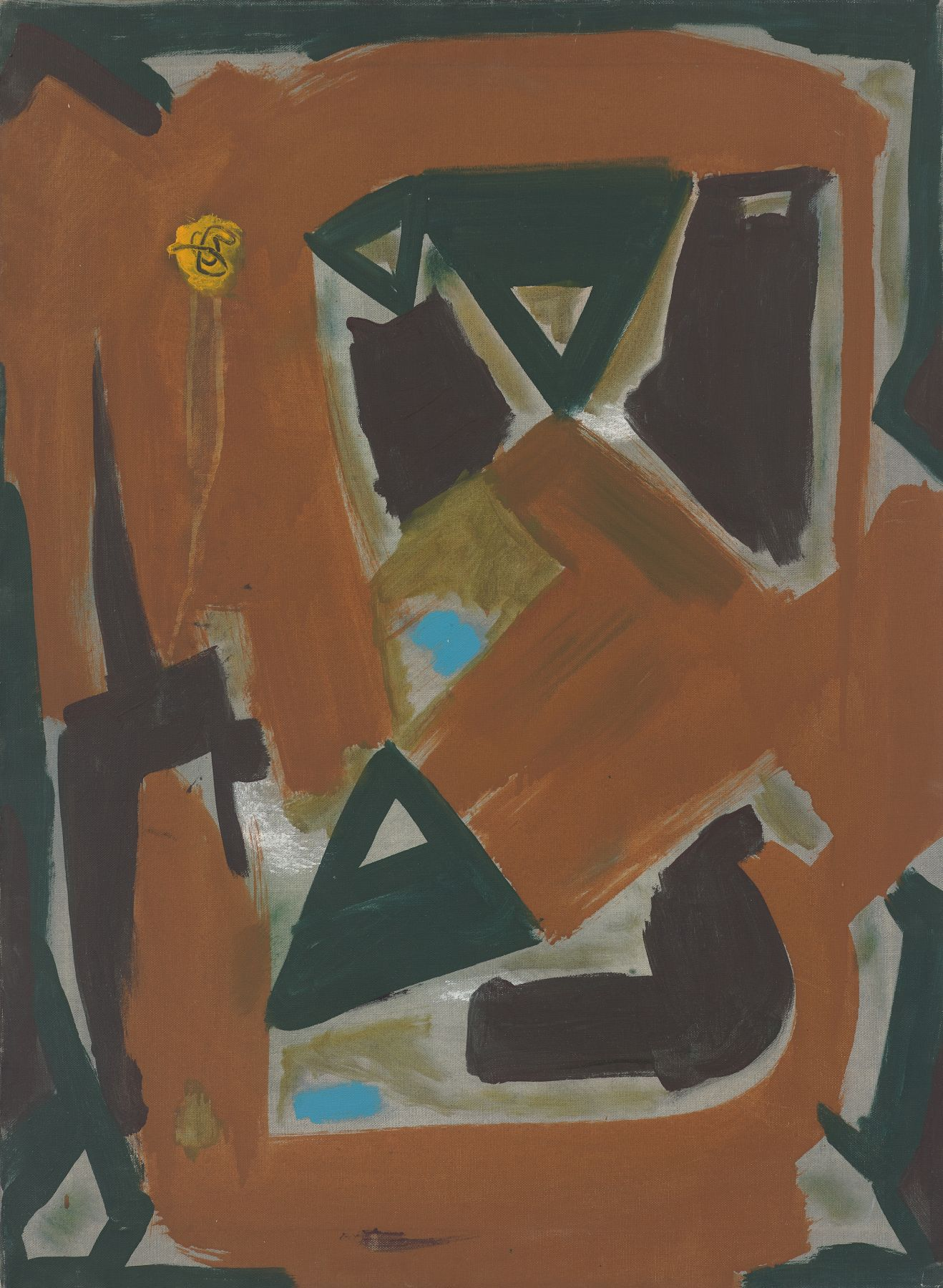 Sputnik (1961) Oil on canvas