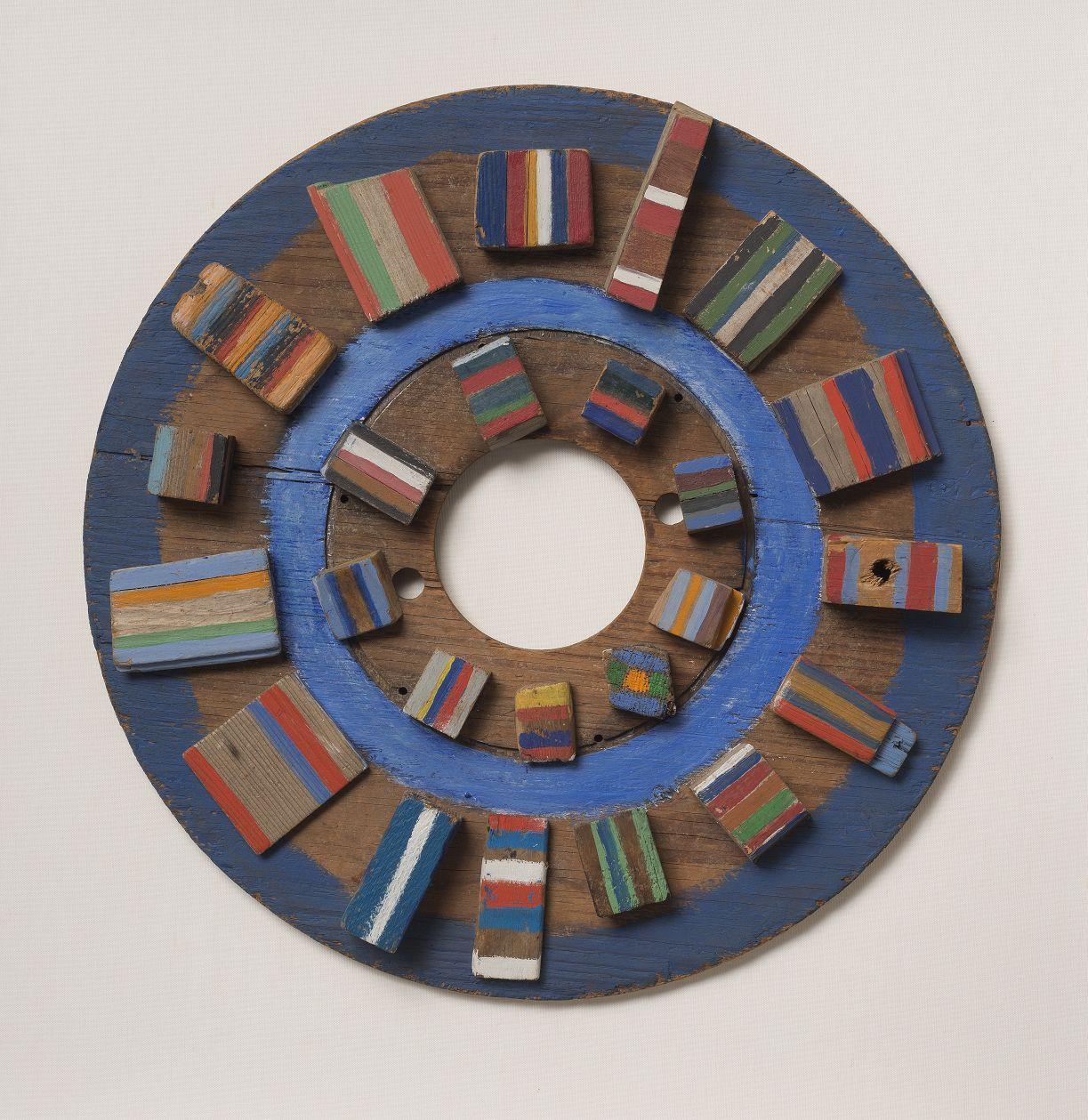 Wheel of Fun, 1970, Acrylic on wood