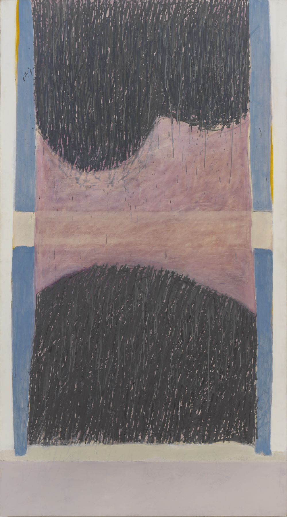 Rime, 1966, Oil on canvas