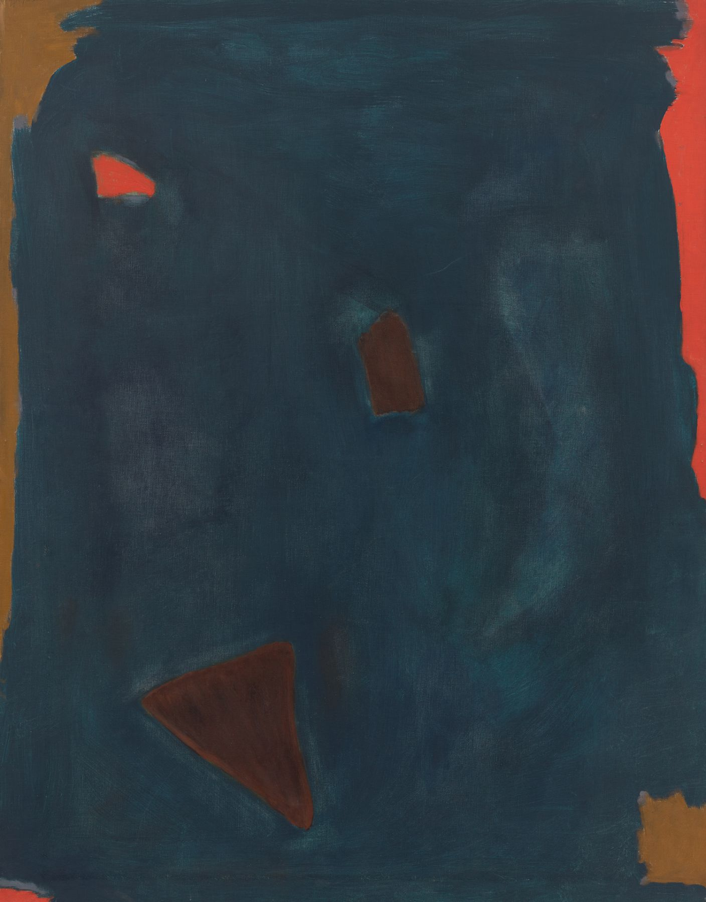 Night Forms, 1960, Acrylic on canvas